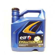 Моторно масло ELF EVOLUTION SXR 5W-40   4 л. с гарантиран произход от е-масла!
