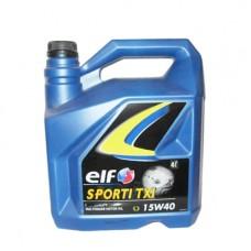 Моторно масло ELF SPORTI TXI 15W-40   4 л. с гарантиран произход от е-масла!