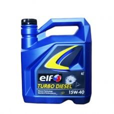 Моторно масло ELF TURBO DIESEL 15W-40   4 л. с гарантиран произход от е-масла!