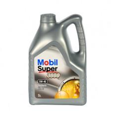 Моторно масло MOBIL Super 3000 X1 5W-40   5 л. с гарантиран произход от е-масла!