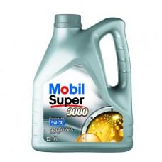 Моторно масло MOBIL SUPER 3000 FE 5W-30   4 л. с гарантиран произход от е-масла!