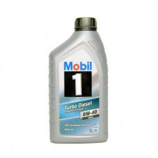 Моторно масло MOBIL 1 TURBO DIESEL 0W-40   1 л. с гарантиран произход от е-масла!