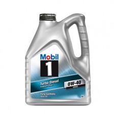 Моторно масло MOBIL 1 TURBO DIESEL 0W-40   4 л. с гарантиран произход от е-масла!
