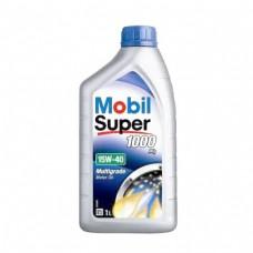 Моторно масло MOBIL SUPER 1000 X1 15W-40   1 л. с гарантиран произход от е-масла!