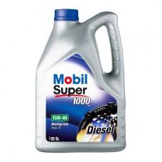 Моторно масло MOBIL SUPER 1000 X1  Diesel 15W-40   5 л. с гарантиран произход от е-масла!