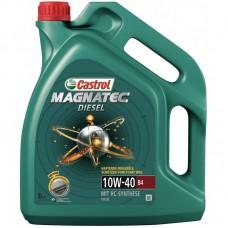 Моторно масло CASTROL MAGNATEC DIESEL 10W-40   5 л. с гарантиран произход от е-масла!