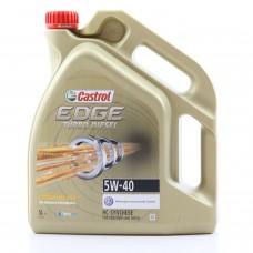 Моторно масло CASTROL EDGE DIESEL TITANIUM FST 5W-40   5 л. с гарантиран произход от е-масла!