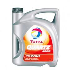 Моторно масло TOTAL QUARTZ 5000 15W-40  5 л. с гарантиран произход от е-масла!