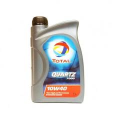 Моторно масло TOTAL QUARTZ 7000 10W-40  1 л. с гарантиран произход от е-масла!