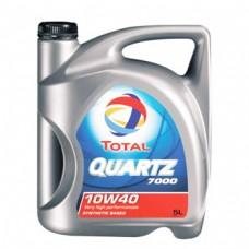 Моторно масло TOTAL QUARTZ 7000 10W-40  5 л. с гарантиран произход от е-масла!